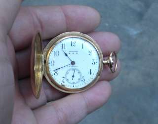 ANTIQUE LONGINES POCKET WATCH 18K GOLD SOLID FOR MEN 1900s