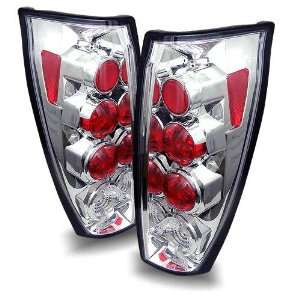 02 06 Chevy Avalanche Chrome Tail Lights Automotive