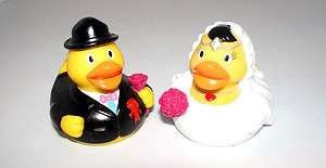 Wedding Rubber Duck Ducky Toy swim pool float (9.5cm / 3.8 inches)