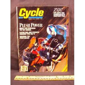 1989 89 March CYCLE Magazine (Features Road Test on