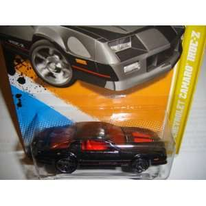 2012 EDITION HOT WHEELS DARK GRAY 1985 CHEVROLET CAMARO IROC Z DIE