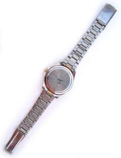 NAVY BLUE Face Dial Mens Wristwatch WATCH Stainless Steel Gold Silver