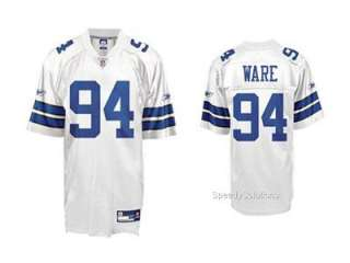 New Official NFL DeMarcus Ware #94 Dallas Cowboys Replica White Jersey