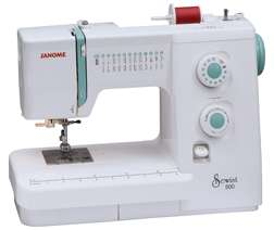 Janome Sewing Machine Sewist 500 + 7034D Serger Package Combo New