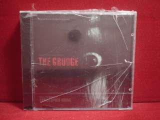 THE GRUDGE   CHRISTOPHER YOUNG   SOUNDTRACK SEALED CD