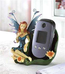 FAIRY/ Pixie Statue CELL PHONE HOLDER/ Storage Stand