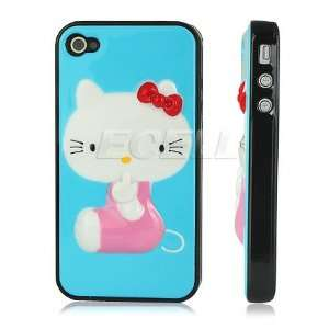 Ecell   SKY BLUE HELLO KITTY HARD BACK CASE COVER FOR
