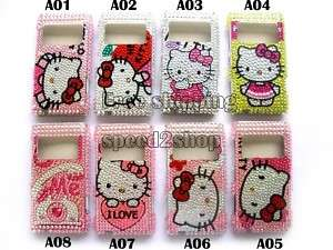Hello kitty Rhinestone Bling Case for NOKIA N8 New