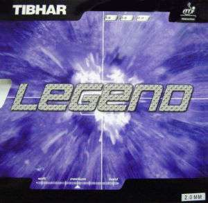Tibhar Legend Destroyer Rubber table tennis blade