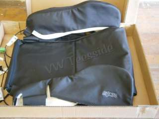 Genuine VW Golf R32 Konig Front Right Base Seat Cover Blk Leather