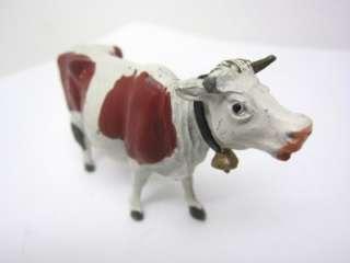 Lead Toy Vintage 4 pc FARM Animal Cow Geese ENGLAND