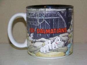 Disney 101 DALMATIANS Coffee Mug Cup MINT NEW Dogs