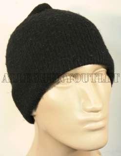 US MILITARY Black Wool Knit Watchmans Hat Skull Cap