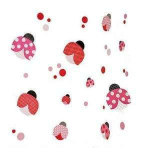 Modpod Pop Ladybug Removable Wall Decals Baby