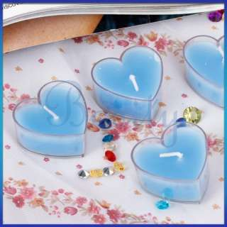 Heart Tea Light Candle Scented Floating Candle Wedding Party Favor