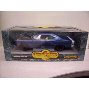 #7271 Ertl American Muscle 1969 Dodge Super Bee 1/18 Scale