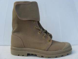 Israeli Army High Commando Boots Khaki IDF E40 US7.5 z