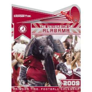Alabama Crimson Tide NCAA 12 x 12 Wall Calendar with Sound