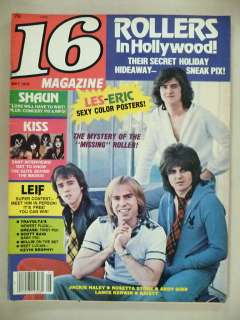 16 Magazine   May, 1978    Kiss; Bay City Rollers