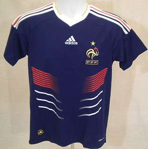 France French FFF Soccer Football Jersey Adidas 2010 P41040 $70 NWT