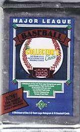 1989 Upper Deck Wax Box / Foil Packs Case Fresh Griffey