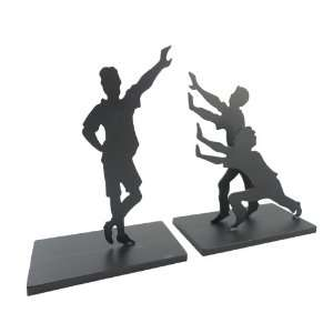Childs Play Heavy Metal Bookends: Home & Kitchen