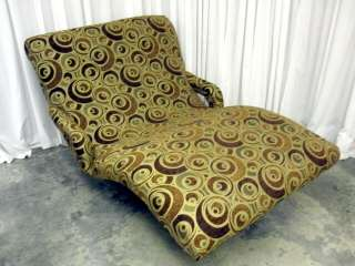 Vintage Contour Lounge Cuddler Model Chair New Upholstery Extra Nice