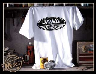 Metro Racing Jawa Vintage Motorcycle Mens T Shirt