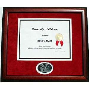 Alabama Crimson Tide Diploma Frame with Standard Mat