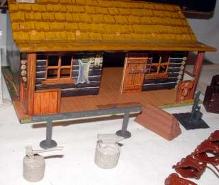 1950s MARX ROY ROGERS RODEO RANCH PLAYSET IN ORIGINAL DISPLAY BOX