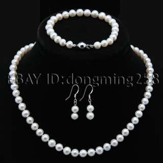 pink purple fresh water pearl necklace bracelets earrings s222