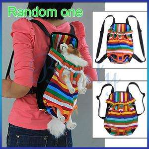 Puppy Doggie Pet Dog Carrier Backpack Front Bag Canvas Nylon Outdoor