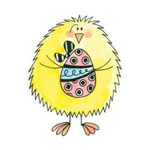 Penny Black Rubber Stamp 2X2.25 Chick & Egg; 2 Items