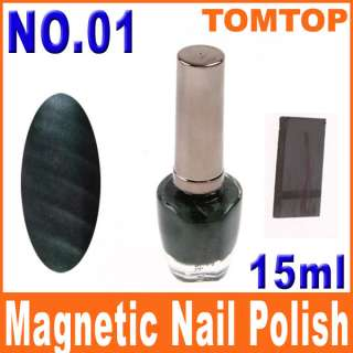 3D Magical Magnetic Nail Polish 40 Fashion Colors Nail Art Magnet