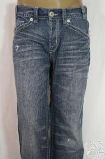 MEK Denim Chesterfield Boot Cut Medium Blue Jeans Mens Pants New