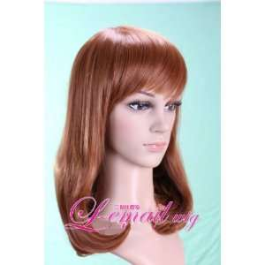 14.17 inch long Blonde Flaxen Wig   By Peep Wigs   Ships from the USA
