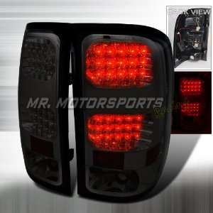 GMC SIERRA LED TAIL LIGHTS SMOKE Automotive