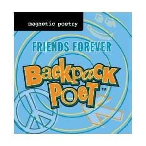 Portable Magnetic Poetry Kit   Friends Forever: Toys & Games