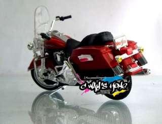 1034 Maisto 118 Harley Davidson 1999 FLHR ROAD KING Diecast