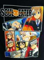 Soul Eater Panels Adult Tee Shirt S XL