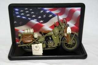 Franklin Mint Harley Davidson Army 1942 WLA