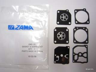 OEM ZAMA CARBURETOR KIT GND 33 FOR STIHL 017, 018