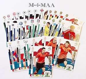 Choose Your STAR PLAYER (ESPANA / SPAIN) Card Panini UEFA EURO 2012