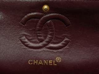 CHANEL CC Leather BAG Shoulder Authentic Purse Black Auth
