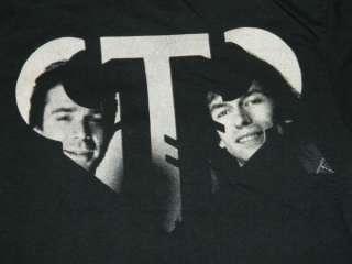 VINTAGE GTR 1985 PROMO T SHIRT ASIA YES GENESIS TOUR CONCERT NOS ROCK