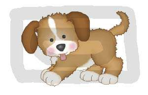 PUPPIES PUPPY DOG BABY NURSERY WALL ART STICKERS DECALS