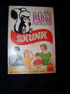 1968 SKUNK GAME A FUNNY PARTY GAME FOR ALL AGES