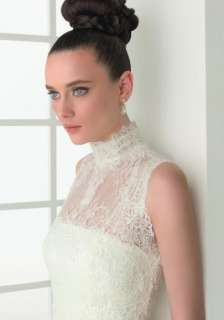Most famous Slinky Strapless Lace Wedding dress Bridal Gown Tiers Free