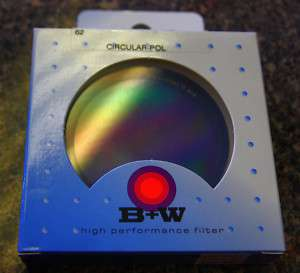 Circular Polarizer Polarizing CPL Filter 62mmNEW