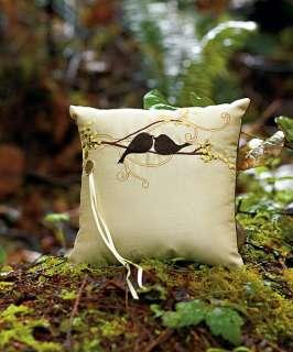 Wedding Ceremony / Reception  Love Bird  Ring Bearer Pillow   8